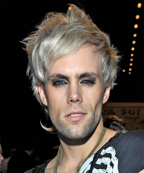 Justin Tranter Short Straight Alternative Hairstyle