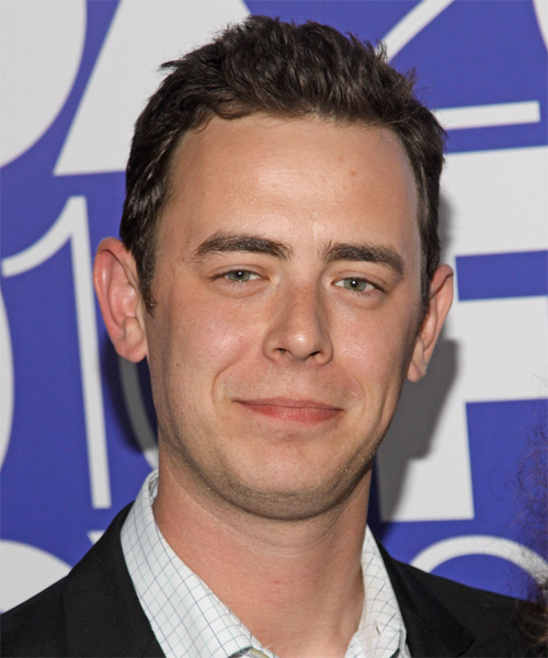 Colin Hanks Short Straight Hairstyle - Medium Brunette