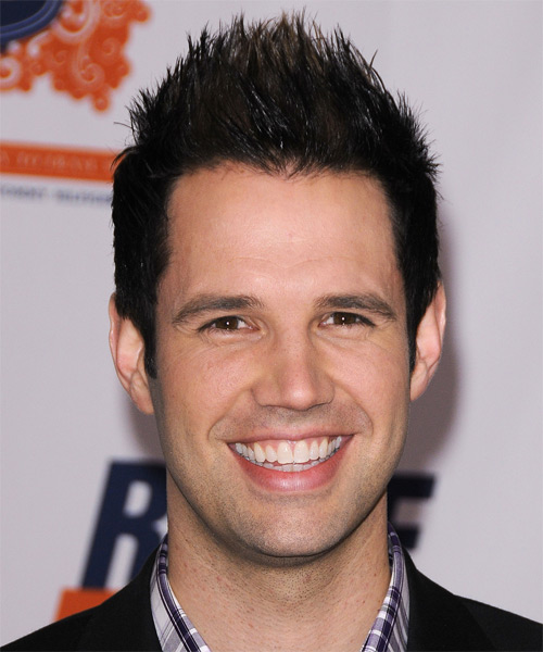 David Osmond  - Casual Short Straight Hairstyle