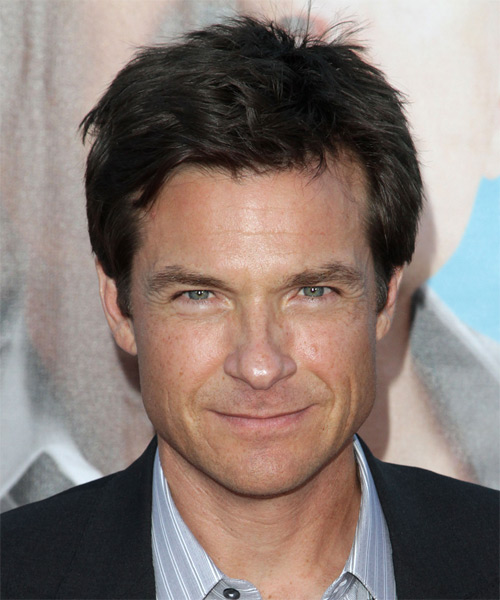 Jason Bateman Short Straight Casual  - Black