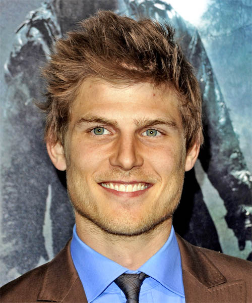 Travis Van Winkle Short Straight Casual Hairstyle