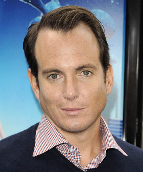Will Arnett Short Straight Hairstyle