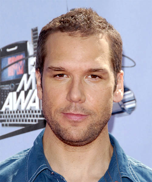 Dane Cook Short Straight Hairstyle - Medium Brunette (Chestnut)