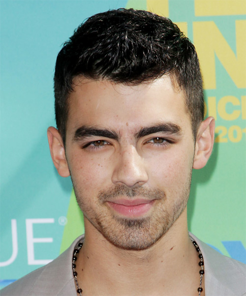 Joe Jonas Short Straight Hairstyle (Mocha)