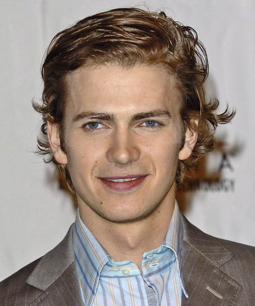 Hayden Christensen - Casual Medium Wavy Hairstyle