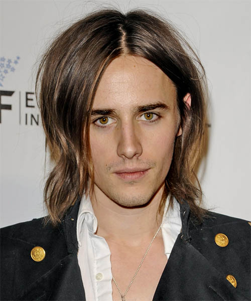 Reeve Carney Medium Straight Hairstyle