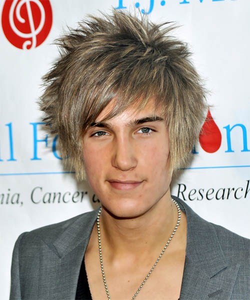 Fashion men's hairstyles for 2008. Short Straight Alternative hairstyle: CJ