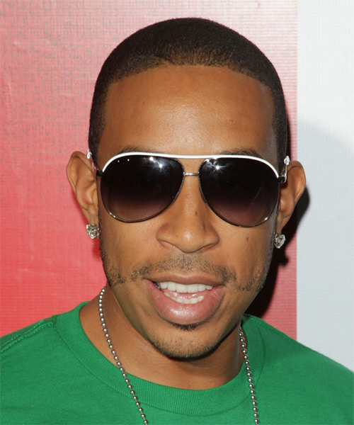 Ludacris Short Straight Casual Hairstyle - Black Hair Color