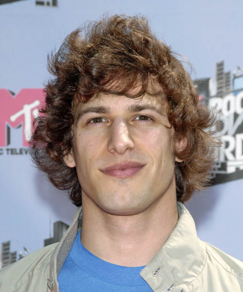 Andy Samberg Short Wavy Casual