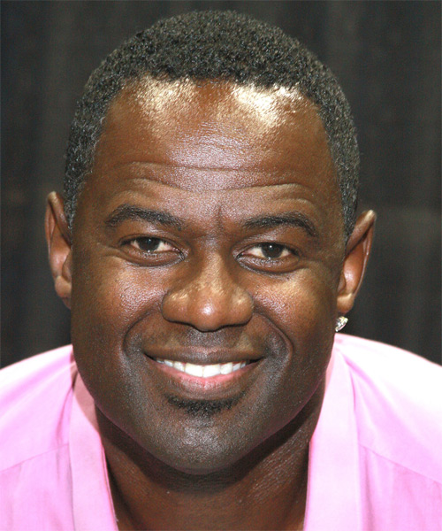 Brian McKnight  - Casual Short Curly Hairstyle