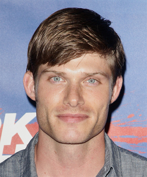 Chris Carmack  Short Straight Casual Hairstyle - Medium Brunette Hair Color