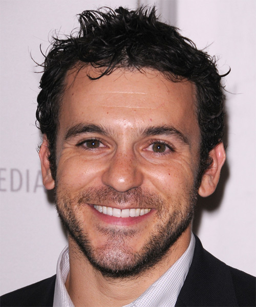Fred Savage Short Straight Casual Hairstyle - Dark Brunette Hair Color