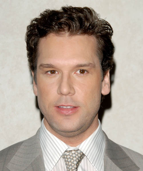 Dane Cook - Casual Short Wavy Hairstyle