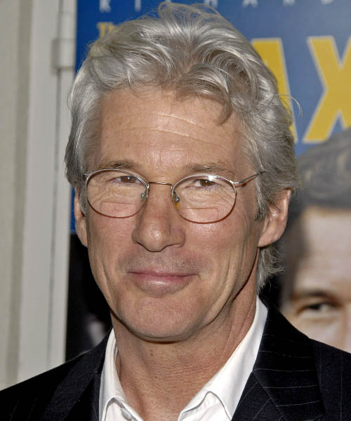 Richard Gere - Casual Short Wavy Hairstyle