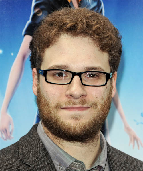 Seth Rogen - Casual Short Wavy Hairstyle