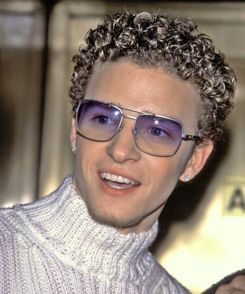 Justin Timberlake - Casual Short Curly Hairstyle