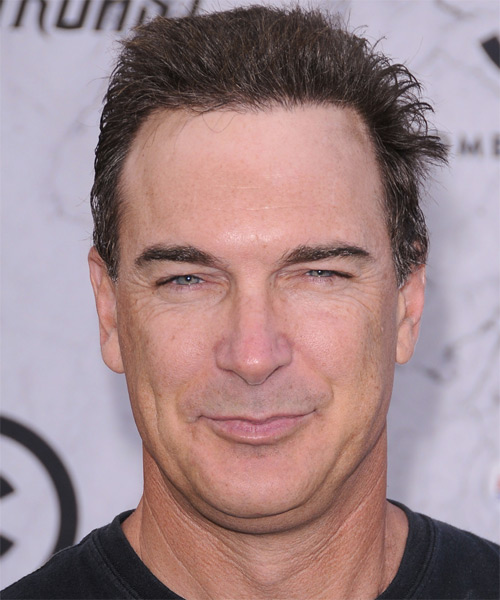 Patrick Warburton Short Straight Hairstyle - Medium Brunette