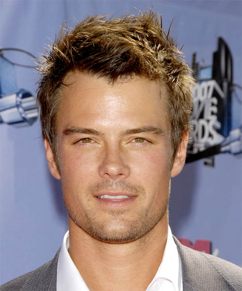 Josh Duhamel Short Straight Hairstyle