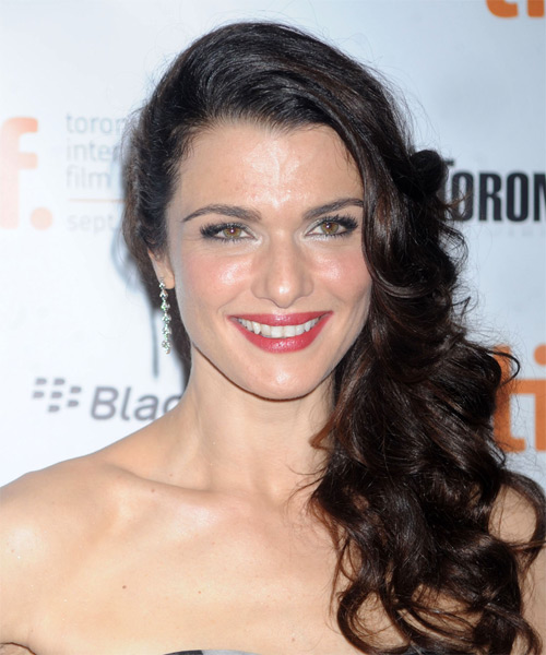 Rachel Weisz Long Wavy Hairstyle