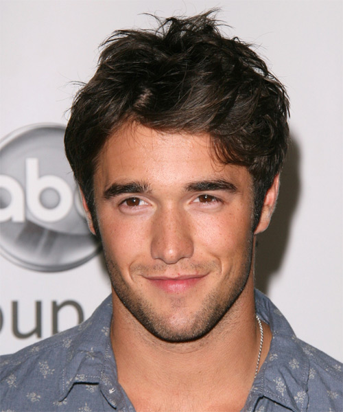 Joshua Bowman Short Straight Hairstyle - Dark Brunette