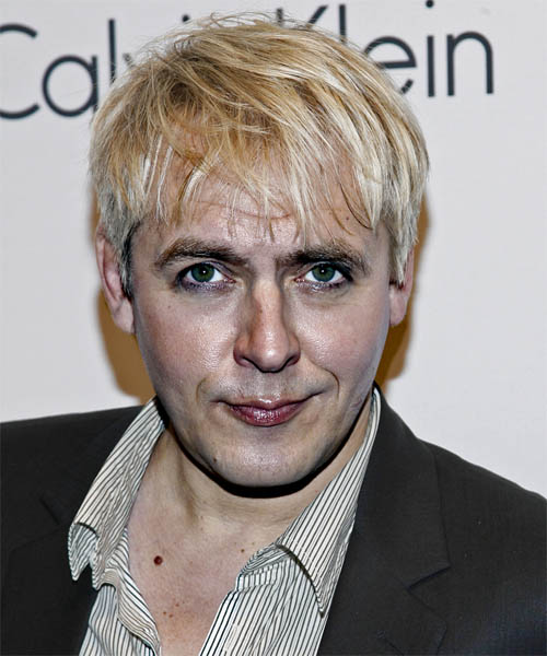Nick Rhodes Short Straight Hairstyle