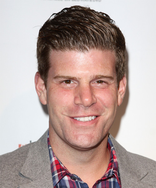 Stephen Rannazzisi Short Straight Formal Hairstyle - Dark Blonde Hair Color