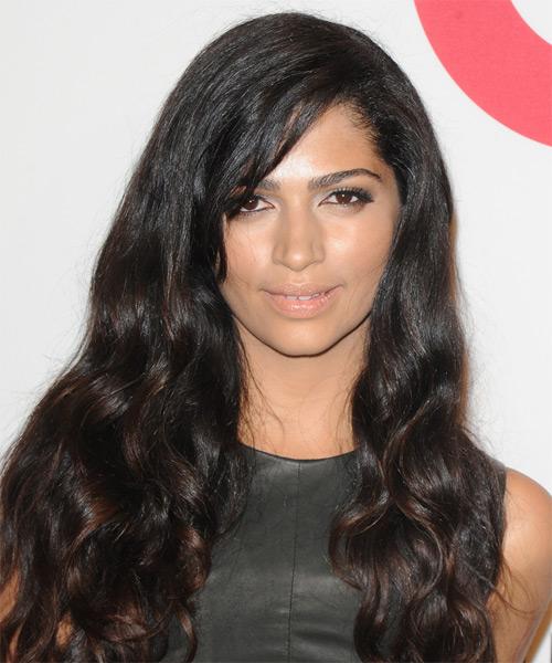 Camila Alves Long Wavy Hairstyle