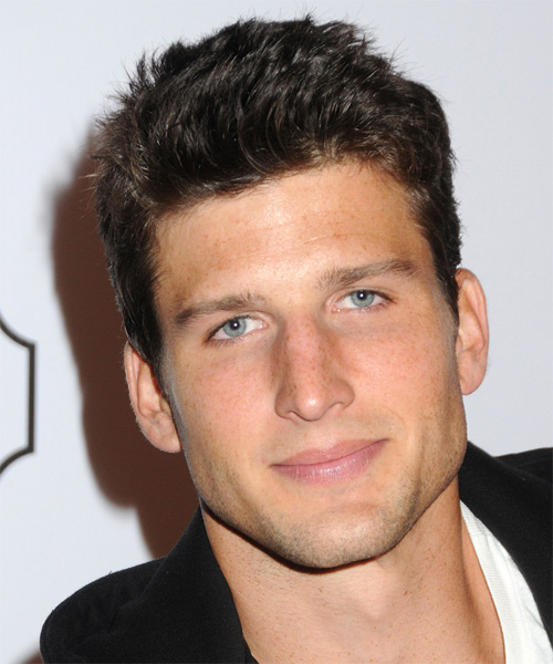 Parker Young Short Straight Hairstyle - Dark Brunette