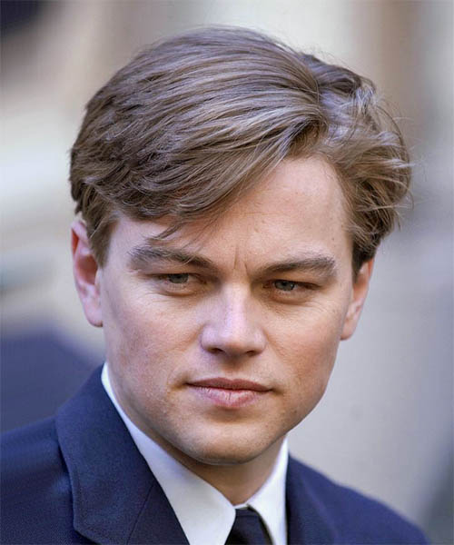 Leonardo DiCaprio Short Straight Hairstyle