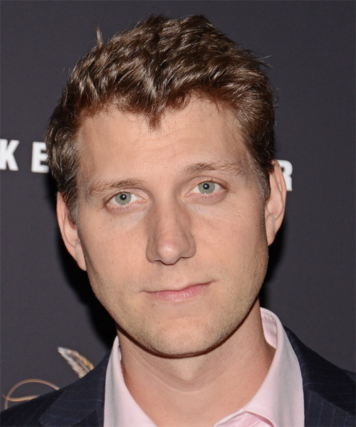 Jeff Nichols Short Straight Hairstyle - Medium Brunette