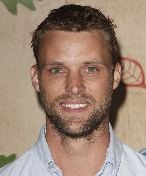 Jesse Spencer Short Straight Hairstyle - Dark Blonde