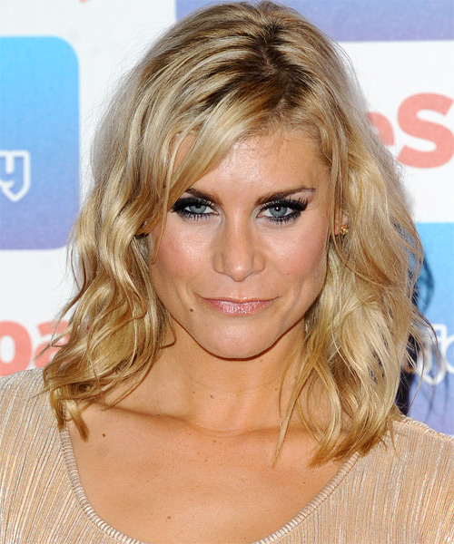Kim Tiddy Medium Wavy Casual  - Light Blonde