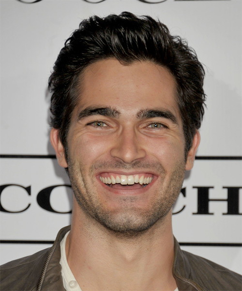 Tyler Hoechlin Short Straight Hairstyle - Dark Brunette