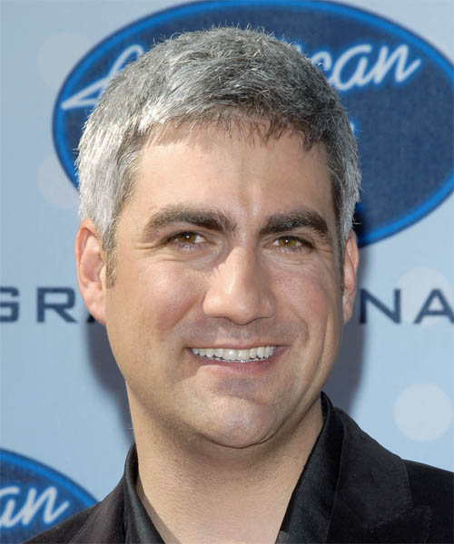 Taylor Hicks - Casual Short Straight Hairstyle