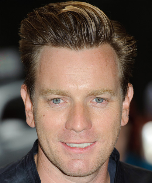 Ewan McGregor Short Straight Hairstyle - Medium Brunette
