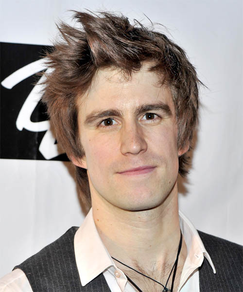 Gavin Creel - Casual Short Straight Hairstyle