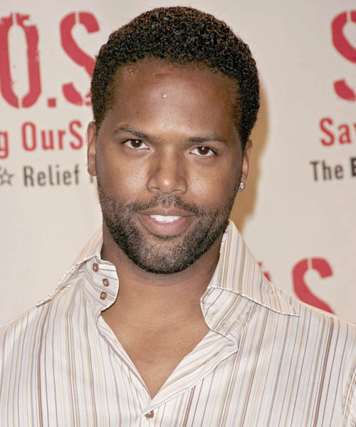 A.J. Calloway - Casual Short Curly Hairstyle