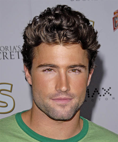 Brody Jenner Short Wavy Casual Hairstyle