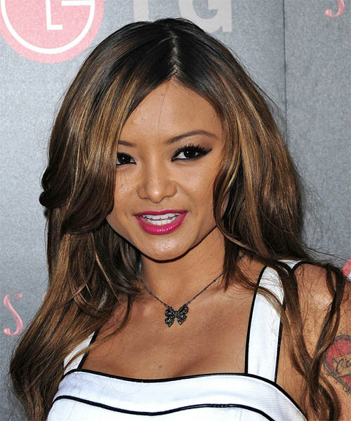 Tila Tequila Long Straight Hairstyle