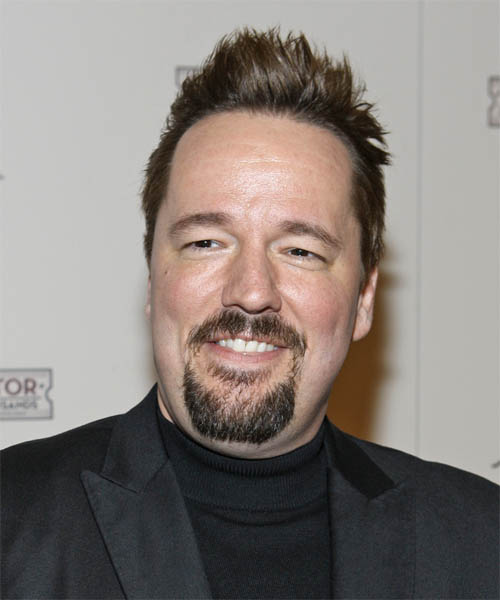 Terry Fator Short Straight Casual Hairstyle