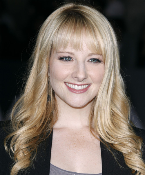 Melissa Rauch Long Wavy Hairstyle - Light Blonde