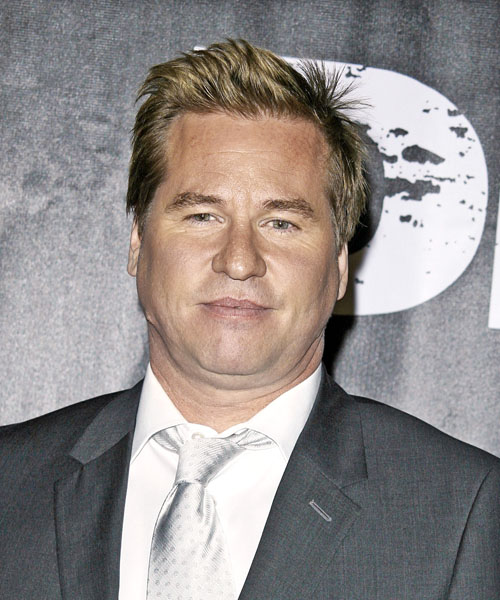 Val Kilmer - Formal Short Straight Hairstyle