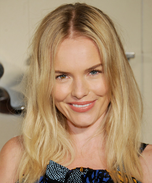 Kate Bosworth Long Straight Hairstyle - Medium Blonde (Golden)