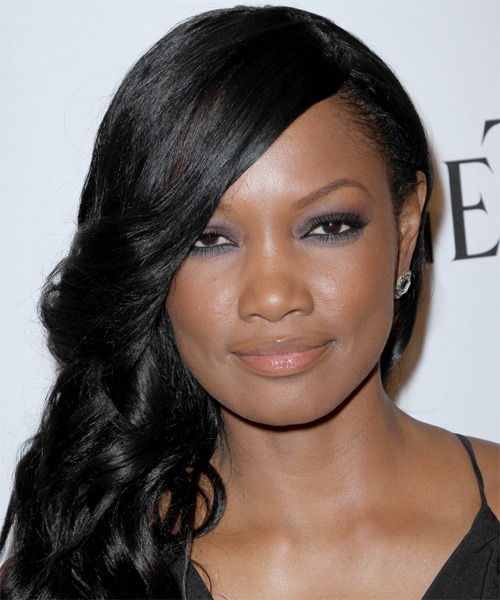 Garcelle Beauvais-Nilon Medium Wavy Hairstyle - Black