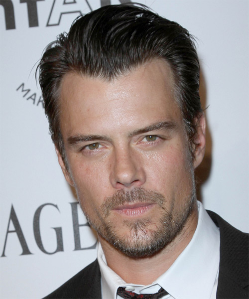 Josh Duhamel Short Straight Hairstyle - Dark Brunette (Ash)
