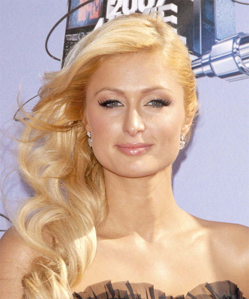 Paris Hilton - Formal Long Curly Hairstyle