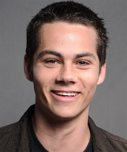 Dylan O'Brien Short Straight Casual Hairstyle - Black Hair Color