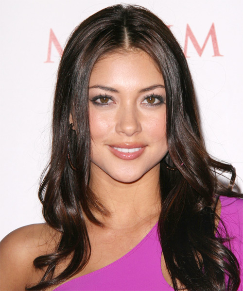 Arianny Celeste - Formal Long Wavy Hairstyle
