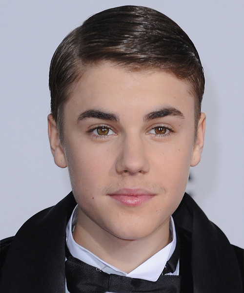 Justin Bieber - Formal Short Straight Hairstyle