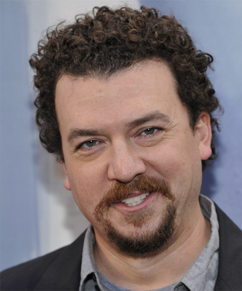 Danny McBride Short Curly Casual Hairstyle - Dark Brunette Hair Color